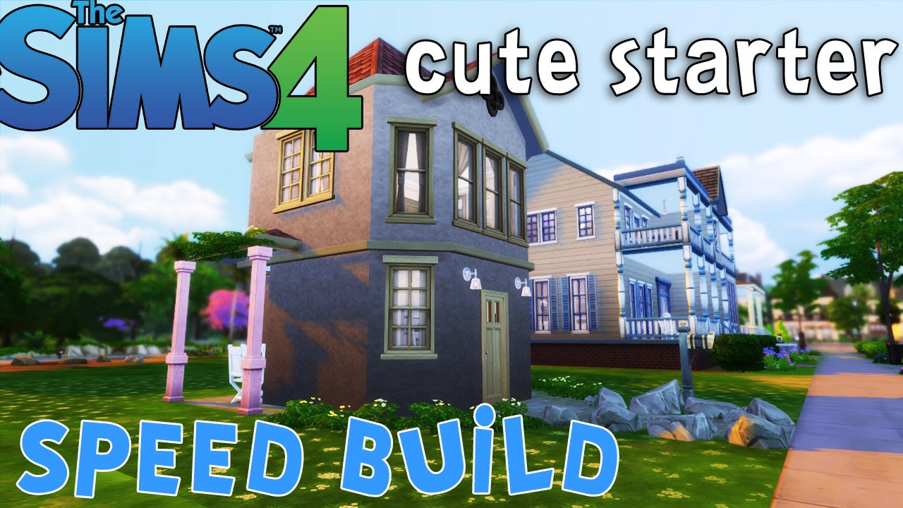 Curtisparadislive sims 4 building starter home part 1 youtube - The Sims 4 Cute Starter Home Under 20k