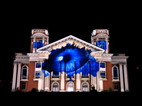 Lg Electronics 3d Projection Mapping Youtube