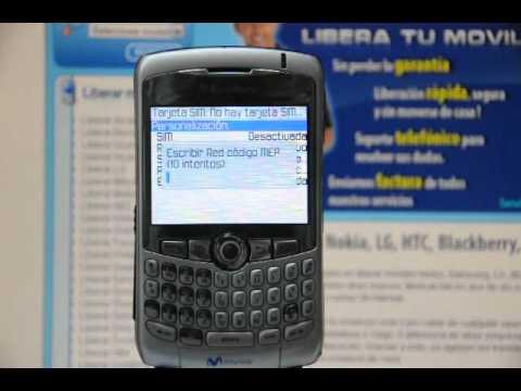 Liberar Blackberry 8310 Curve, cómo desbloquear Blackberry 8310 Curve de Movistar - Movical.Net