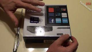 Netgear NeoTV NTV200 Streaming Player: Unboxing & Size Comparison With The Roku 2 XS