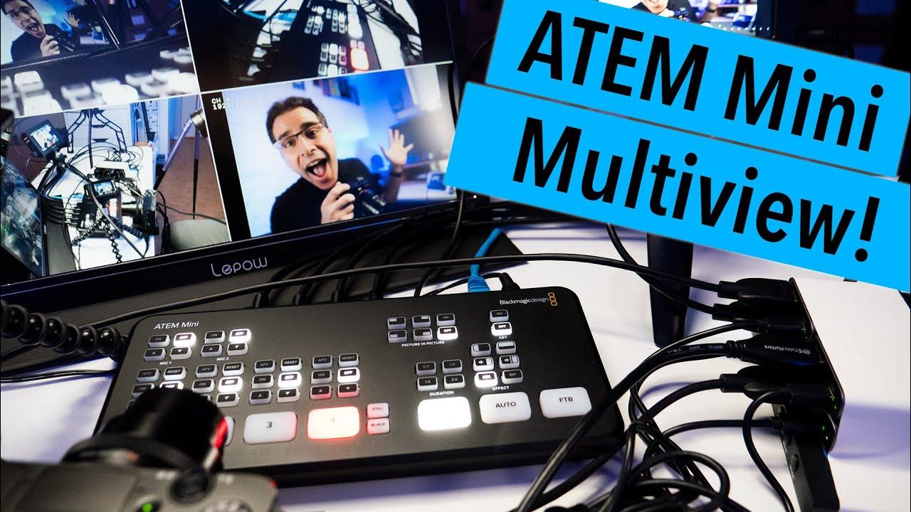 Multiview On The Atem Mini Youtube