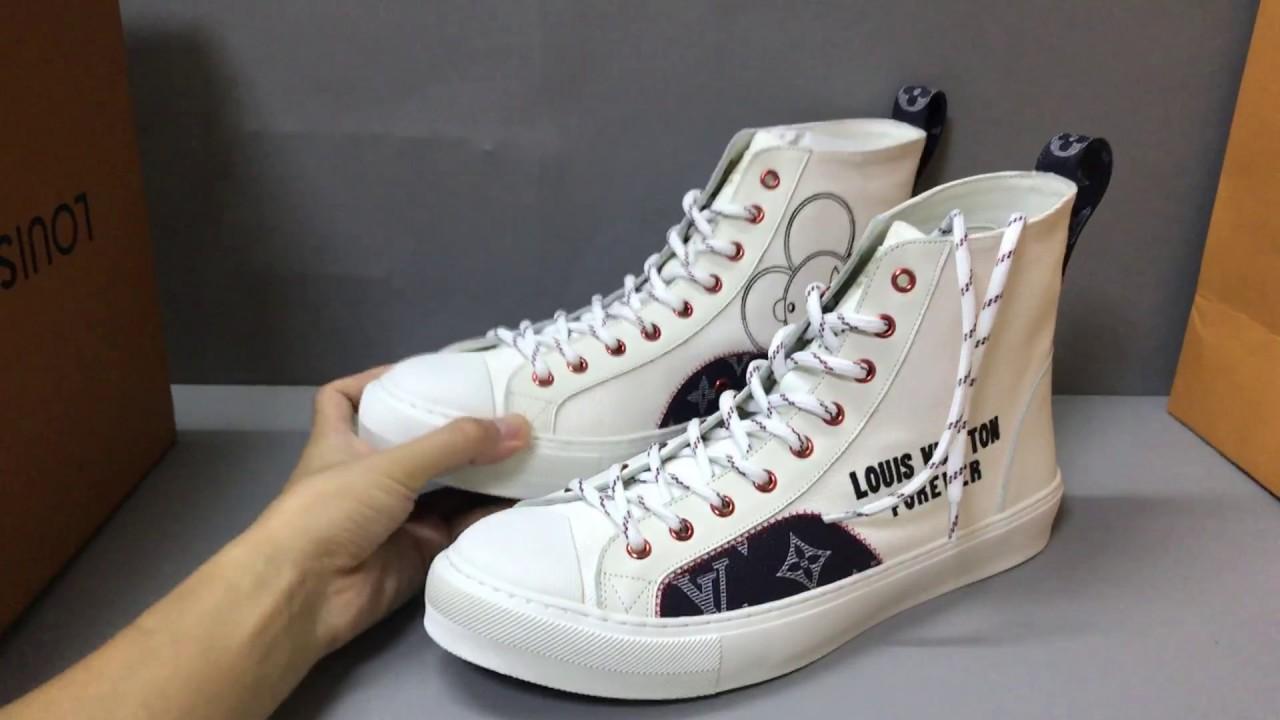 a72f4132853 Louis Vuitton Tattoo Sneaker Boot