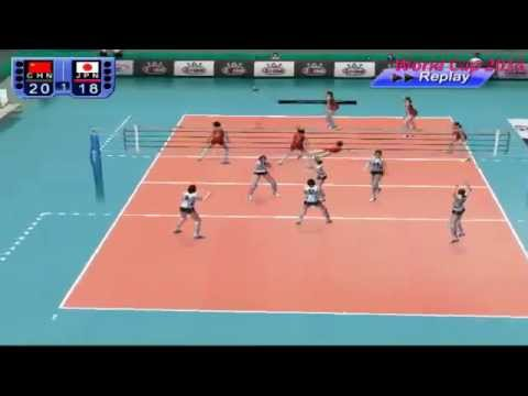 Game: China VS Japan- Volleyball women's WORLD CUP 2015