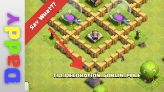 CRAZIEST GLITCHED base in Clash Of Clans LOOK LIVE RIGHT NOW - haunted base?