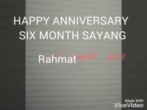 Kata Kata Anniversary 6 Bulan Youtube