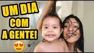 UM DIA INTEIRO COM A VALENTINA!!! ELA ESTÁ FALANDO!!!! - Pérolas da J@que