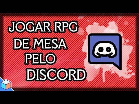 COMO JOGAR RPG DE MESA SÓ PELO DISCORD