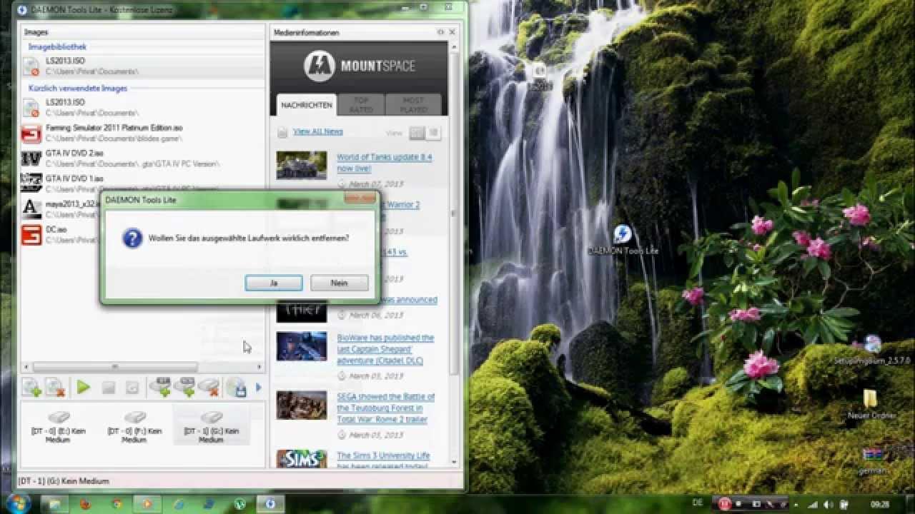jedes beliebige game ohne cd spielen mit beispiel landwirtschafts simulator 2013