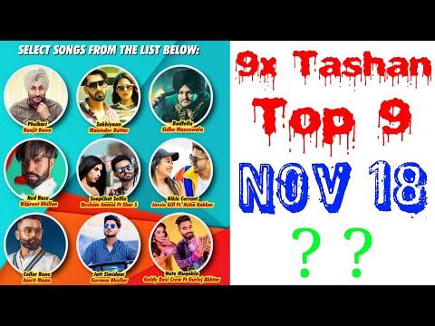 9x Tashan Top 9 of This Week- November 18, 2018 | Latest Punjabi Songs 2018 |