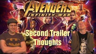 Infinity War 2nd Trailer - A Geeky Couple Ramble