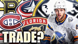 Taylor Hall Trade To Habs, Bruins, Or Blue Jackets? NHL News & Rumours Today 2021 (Buffalo Sabres)