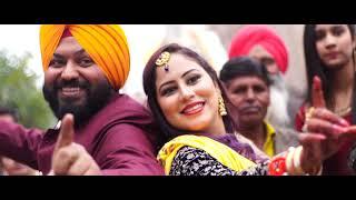 Indian Wedding Lip Dub | Godday Godday Chaa | SAGAR & TINCY | New kaushal Portraits M 9872783983