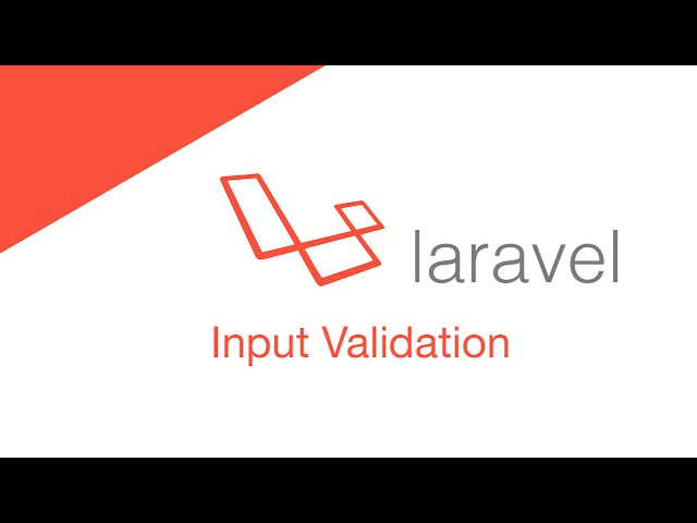 Laravel 5.2 PHP Build  a social network - Input Validation