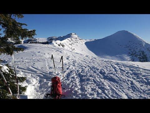 """Skitour Mühlhornwand """"Mühlhörndl""""(1659m) - Chiemgauer Alpen"""