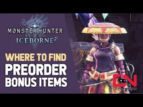 Monster Hunter World Iceborne - Where to Find Preorder Bonus
