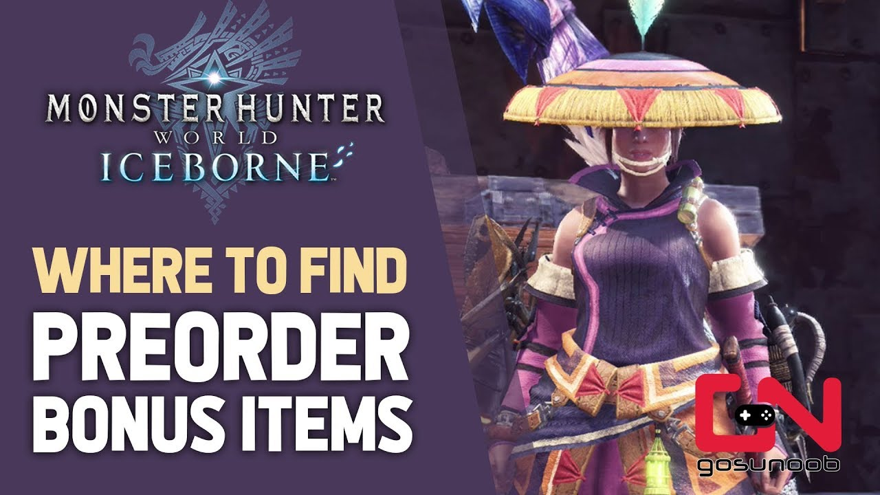 Monster Hunter World Iceborne - Where to Find Preorder Bonus Items & Deluxe  Edition Sets