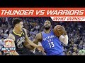 Who Wins, OKC Thunder vs Golden State Warriors (Ring Night) | Hoops N Brews