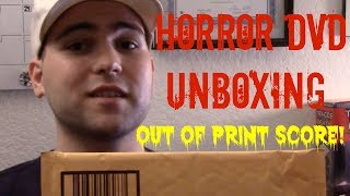 DVD Unboxing: Major Out of Print Score!