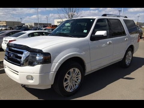 Pre Owned White  Ford Expedition Wd Dr Limited Flex Fuel Fort Mcmurray Alberta