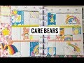 PLAN WITH ME | Happy Planner | Care Bears