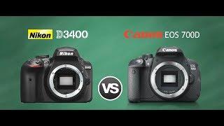 So sánh Canon 700D và Nikon D3400 - duytom.com