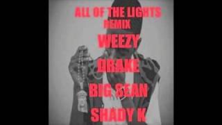 All of The Lights REMIX - Lil Wayne, BIG Sean, Drake, Shady K