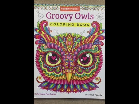 Groovy Owls Designs Originals Flip Through