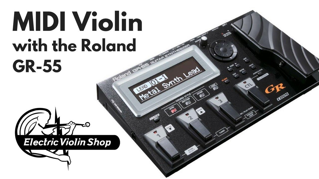 Violin MIDI Facebook Live chat filmed 9/7/16   Electric Violin Shop