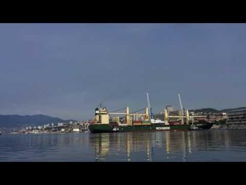 Rickmers Singapore pristajanje Rijeka