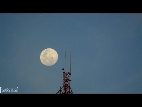 Super Luna llena | TimeLapse [HD] 1080p | Oberá Mnes 29-07-15