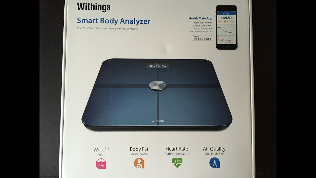 Smart body analyzer ws 50 review
