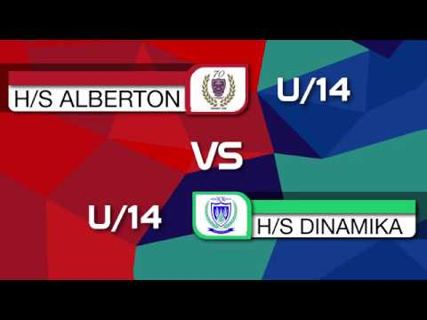 Alberton u14 vs Dinamika u14   First Half