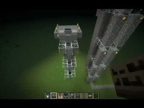 Minecraft Pistonsuz En Hızlı Asansör Yapımı