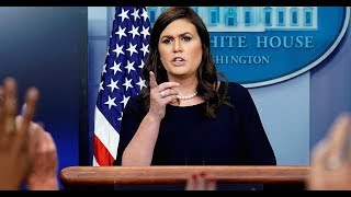 🔴WATCH: Sarah Huckabee Sanders White House Press Briefing 1/4/2018