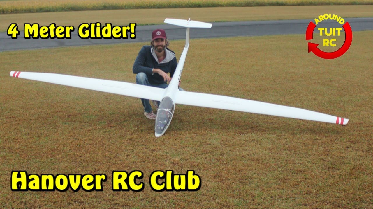 hanover rc flying club part 3 4 meter glider around tuit rc youtube. Black Bedroom Furniture Sets. Home Design Ideas