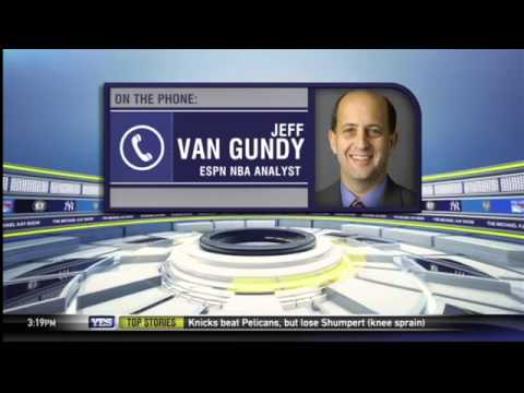Jeff Van Gundy on the NBA Trade Deadline and Iman Shumpert's injury
