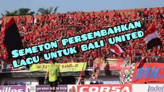 Fans Bali United Persembahkan Lagu untuk Klub kebanggaan