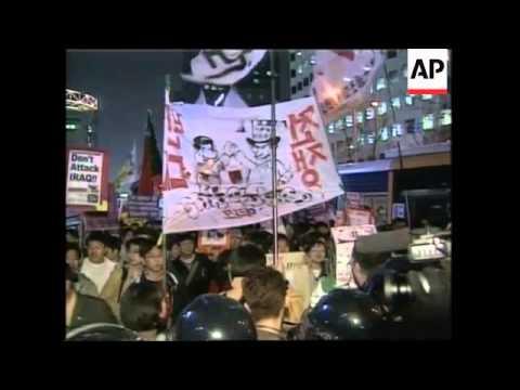 Anti war demonstrations around the world