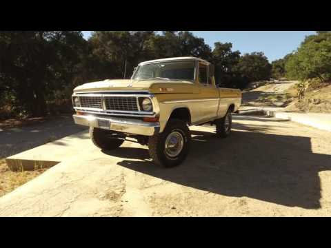 1970 Ford F100 Short Bed 4x4 Survivor For Sale!