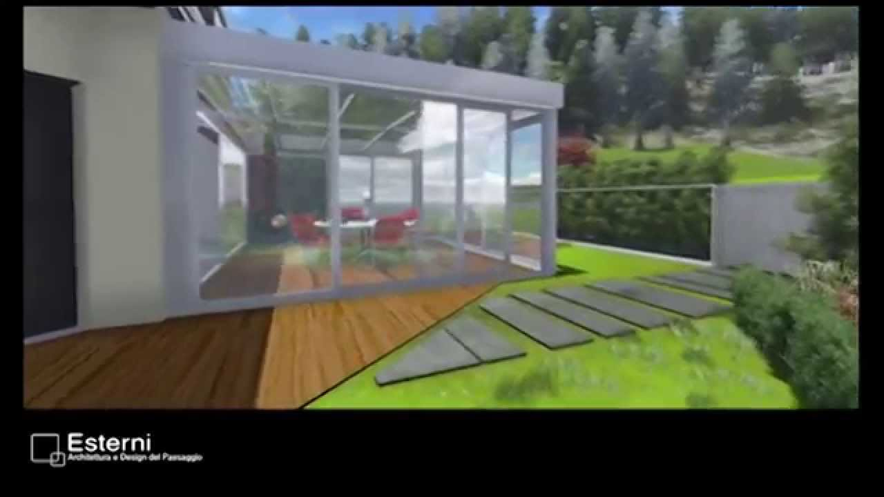 Progettazione spazio esterno con giardino d 39 inverno for Software progettazione esterni