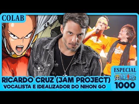 CONVERSA COM RICARDO CRUZ (JAM PROJECT) (Especial One Piece 1000 | Colab)