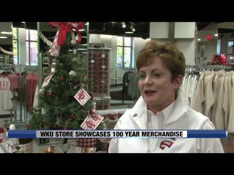 View From The Hill - WKU Store Showcases 100 Year Merchandise