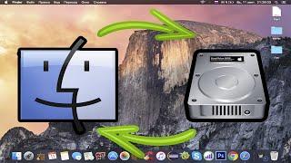 Как перекинуть файлы с мака на жесткий диск, флешку? Apple