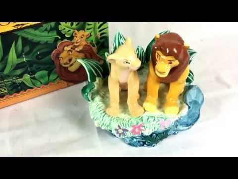 Schmid Disney Lion King Simba Nala Music Box