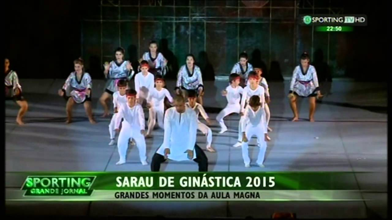 Ginástica :: Sporting - Sarau 2015