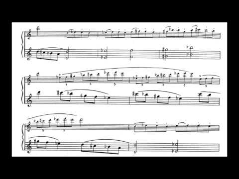 Ravi Shankar - L'Aube Enchantée sur le Raga Todi for Guitar & Flute (Score video)
