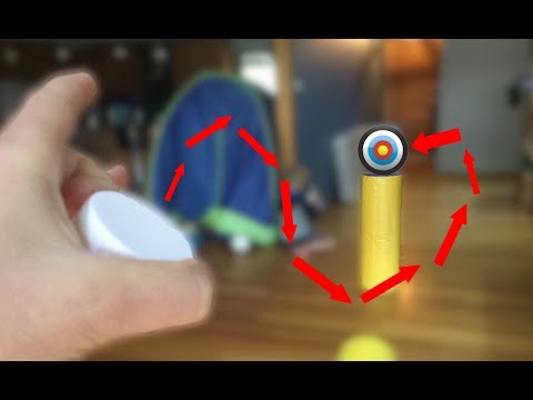 BOTTLE CAP FLICK TRICK SHOTS !!!