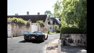 Chasing a ROAD LEGAL PORSCHE 917 in French countryside