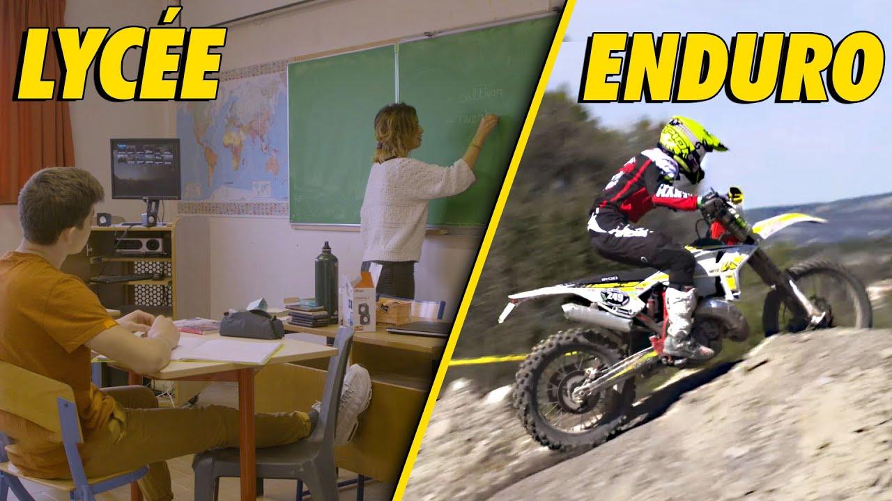 ENDURO MOTO : Immersion dans un lycée pas comme les autres !
