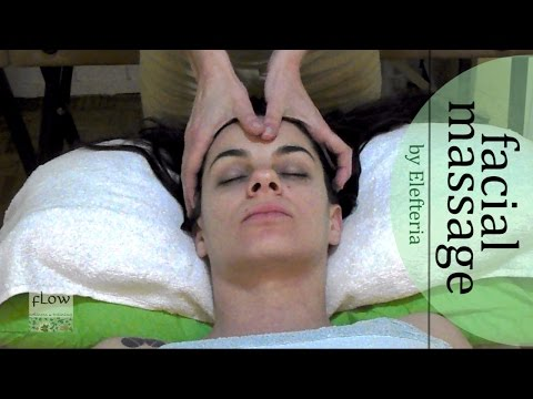 Thai Oil Massage - Facial techniques